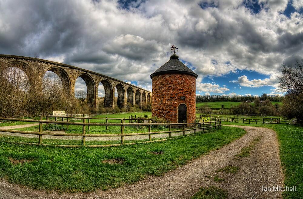 Railway Viaduct by Ian Mitchell