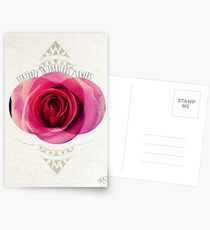featured in fabulous flower Postcards