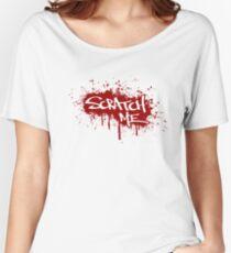 Scratch Me Women's Relaxed Fit T-Shirt