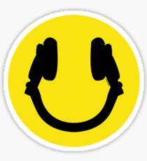 Smile DJ Sticker