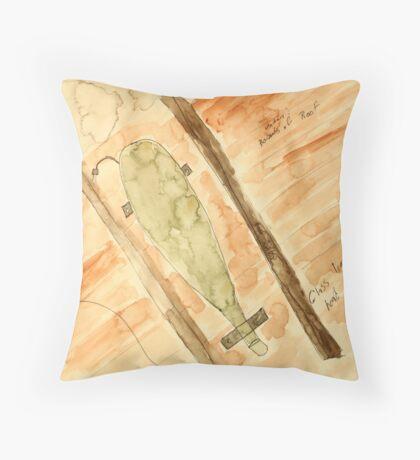The Cornucopia Throw Pillow