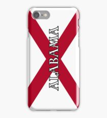 Smartphone Case - State Flag of Alabama  - Vertical Named iPhone Case/Skin