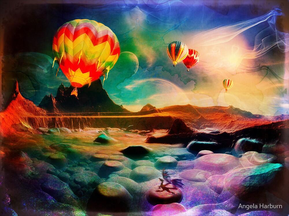 A Small Dragon Dreams by Angela Harburn