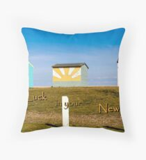 New Home Throw Pillow