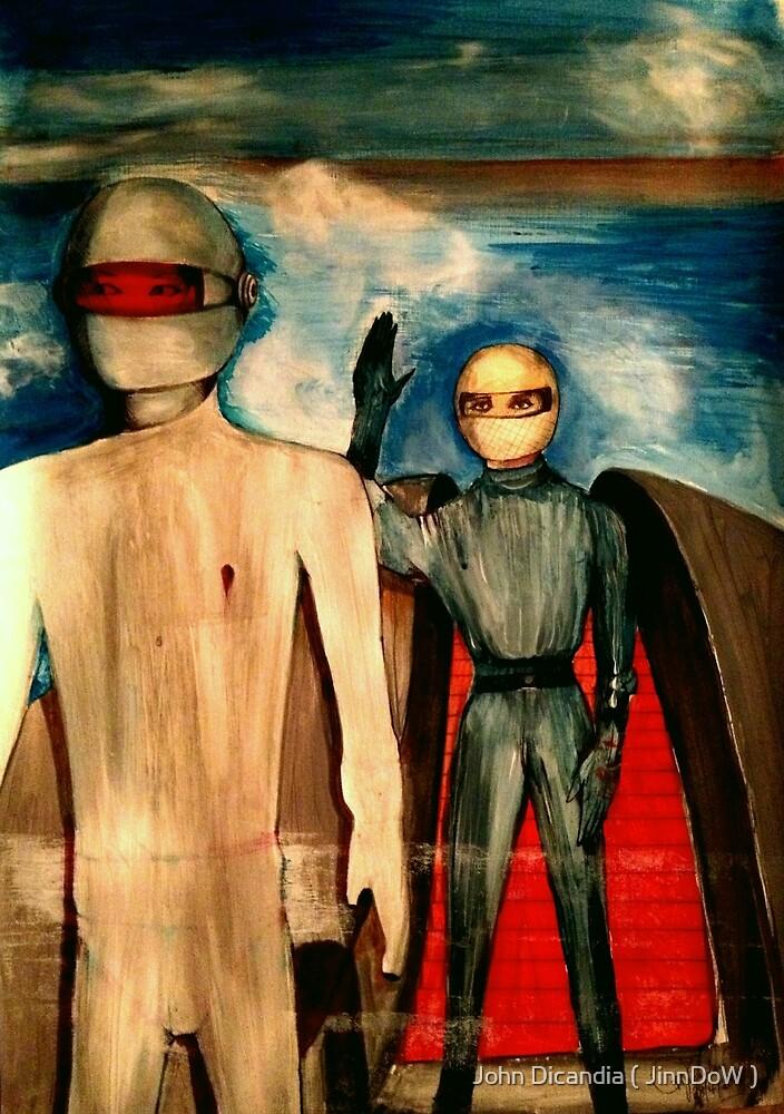 Klaatus Duchamp by John Dicandia ( JinnDoW )