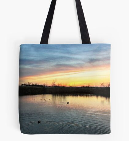 Twilight at the Quarry Tote Bag