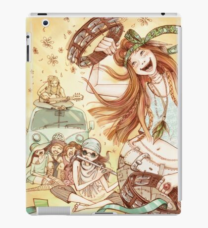 Hippy Fiesta iPad Case/Skin