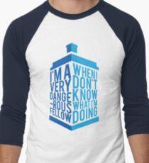 Dr Who - Baker Quote Men's Baseball ¾ T-Shirt