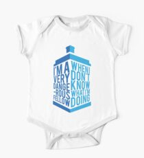 Dr Who - Baker Quote One Piece - Short Sleeve