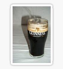 Nice pint of Guinness Sticker
