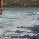 Boat ride through Horizontal Falls, McLarty Range, Western Australia by Margaret  Hyde