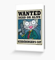 Schrodinger's Cat - Other Greeting Card