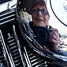 Reflections on a Harley Davidson by Mary Ellen Garcia