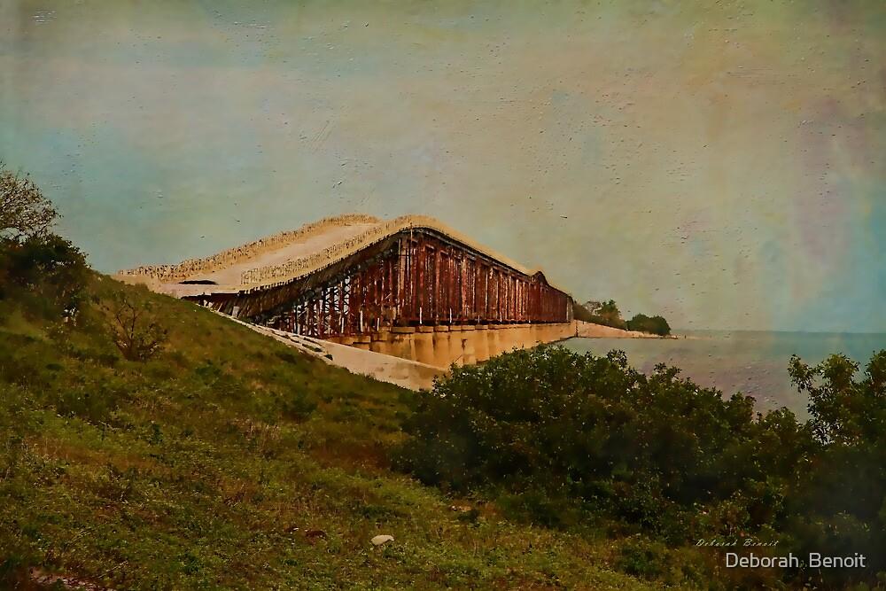 Old Keys Bridge by Deborah  Benoit