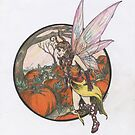 Aefwine - Autumn Harvest Fairy by David Webb