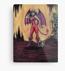 Aosoth - Sexy Devil Girl Metal Print