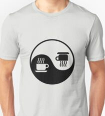 Ying and Yang of Coffee T-Shirt