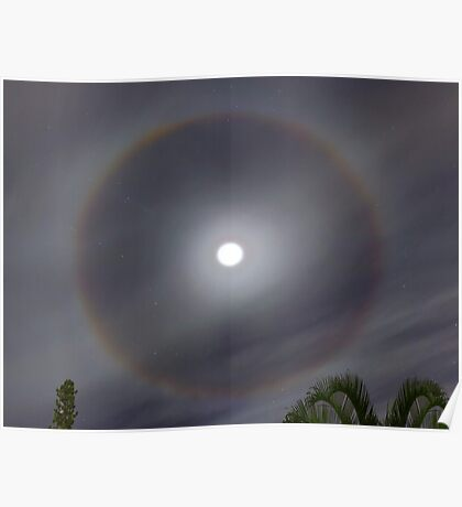Moon Halo Poster