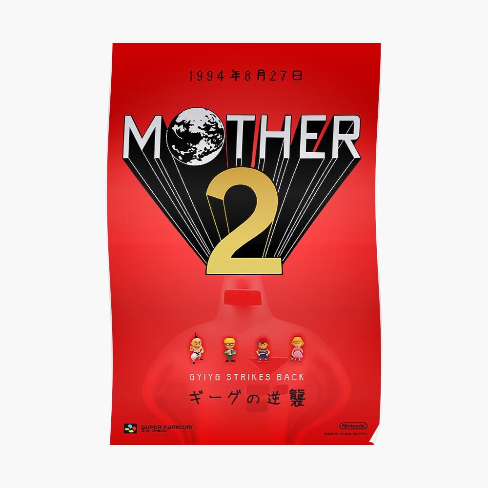 Mother 2 / EarthBound - Próximamente Anuncio Póster