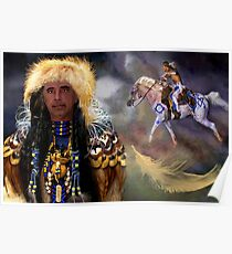 ☝ ☞CHEVEYO (NATIVE AMERICAN)TOM MEANING SPIRIT WARRIOR☝ ☞ Poster
