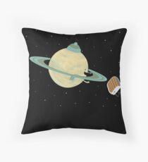 Space Heater Throw Pillow