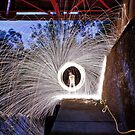 Wheel of Steel (wool) by Gavin Kerslake