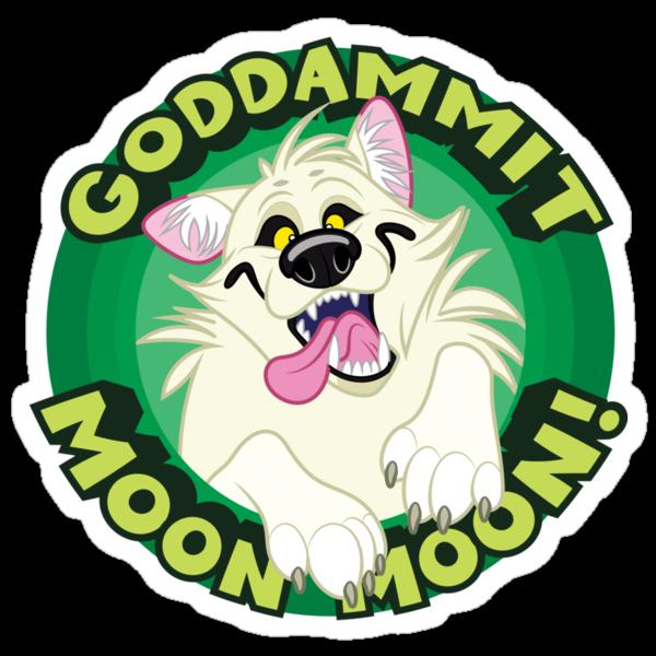 Goddammit Moon Moon! by Kobi-LaCroix