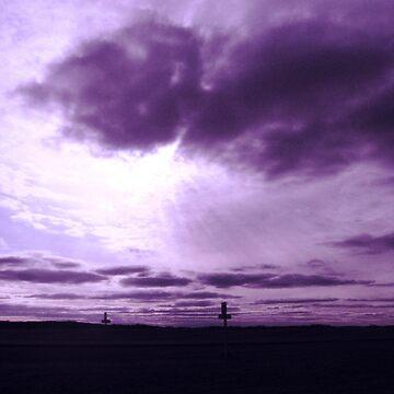Highway sky by schizomania
