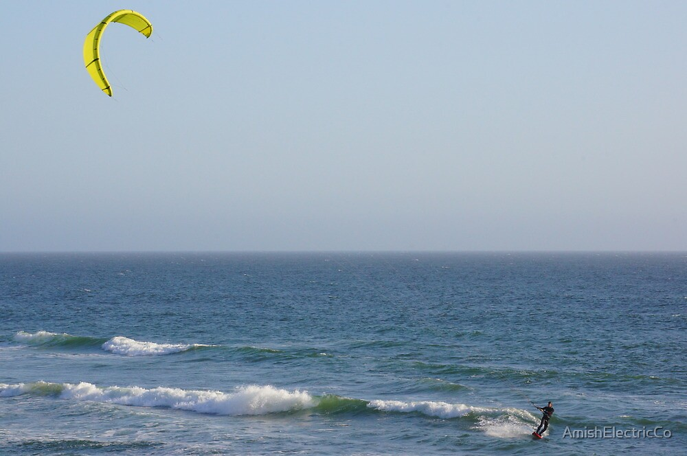 Wind Surfing #2 by AmishElectricCo