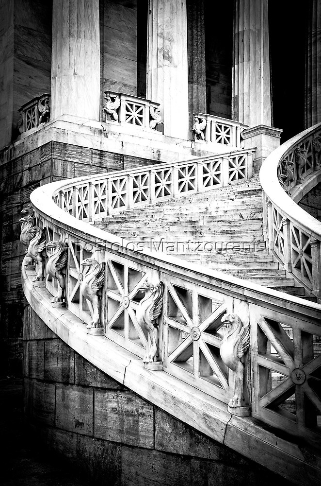 National Library of Greece | 2 by Apostolos Mantzouranis