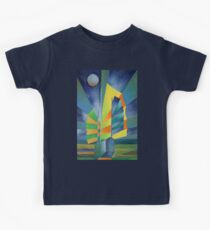 Junk By The Light Of The Silvery Moon Kids Tee