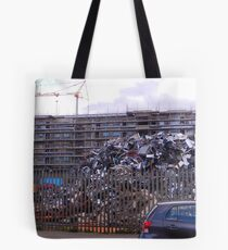 Parking for 4000 Cars Tote Bag