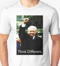 Boris Yeltsin think different Unisex T-Shirt