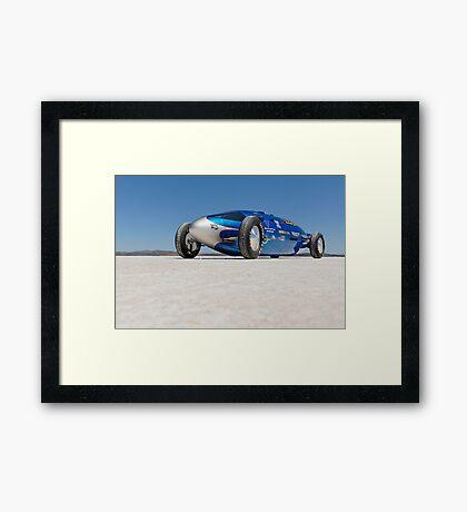 Blue Bellytank 1 Framed Print