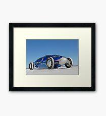 Blue Bellytank 2 Framed Print
