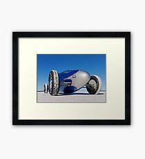 Blue Bellytank 3 Framed Print
