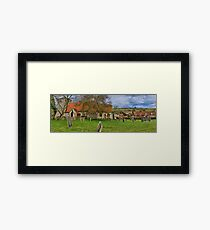 Turville - A Much Used Film Location - 2 Framed Print