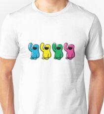 4 kinds of Happy Unisex T-Shirt