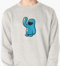 Sketchy blue Happyman Pullover