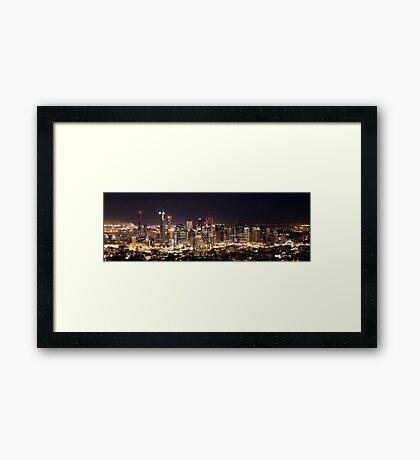 Brisbane, Australia! Framed Print