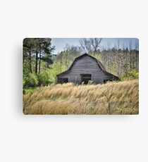 Noblit-Lytle Barn, Minor, Tennessee Canvas Print