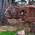 Old tractor by Penny Fawver