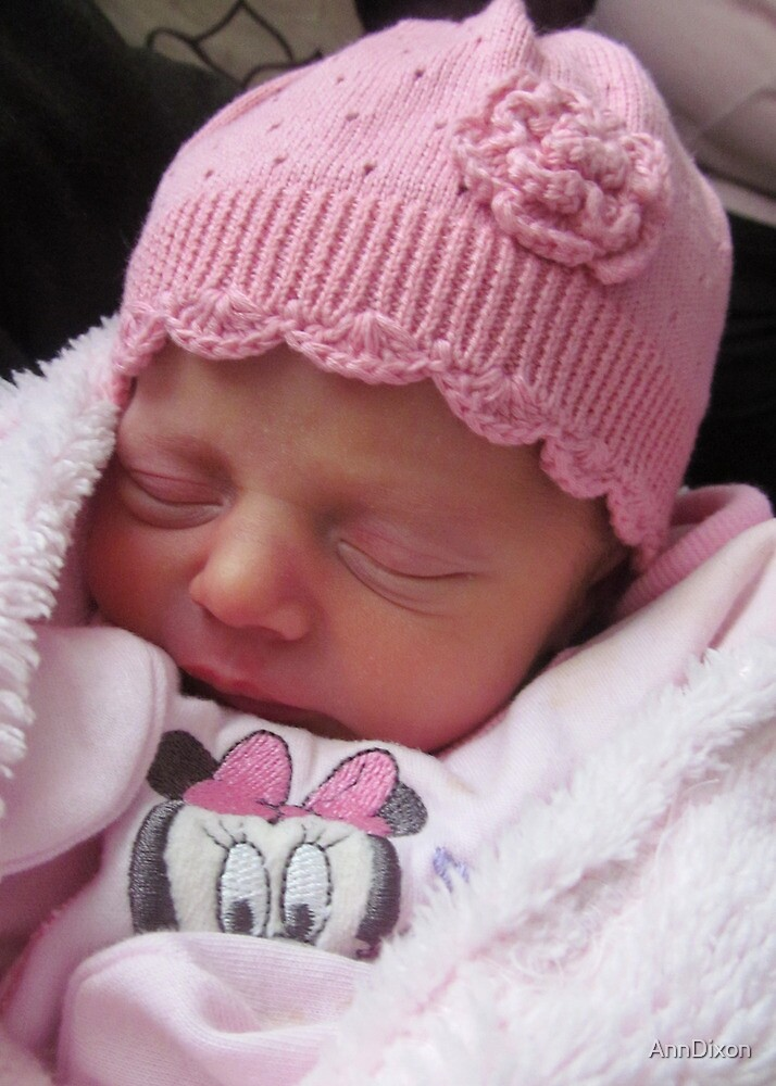 My First Great Granddaughter Laicey Jane - born 27th April 2013 a month early weighing in at 5pounds 12ounces by AnnDixon