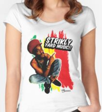 Strikly Yard Music Women's Fitted Scoop T-Shirt