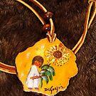 DeGrazia Necklace by WildestArt