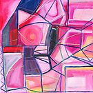 Abstract In Pink by Jennifer Lothrigel