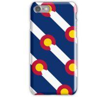 Smartphone Case - State Flag of Colorado  - Diagonal iPhone Case/Skin