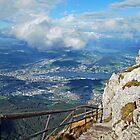 view from Pilatus by GOSIA GRZYBEK