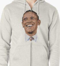 Obama Zipped Hoodie