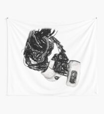 GlaDos Free Draw Wall Tapestry
